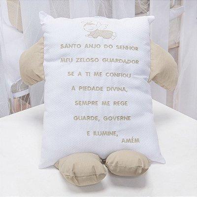 Travesseiro Soninho Oração Palha