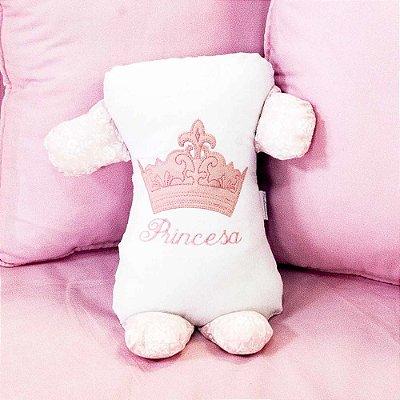 Travesseiro Soninho Princesinha Rosa