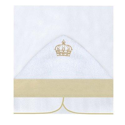 Toalha Fralda Com Capuz Majestade
