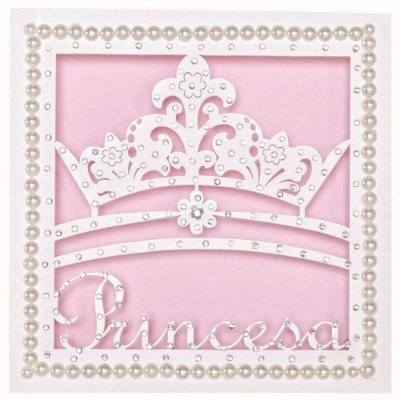 Quadrinho Nicho Princesinha Mdf