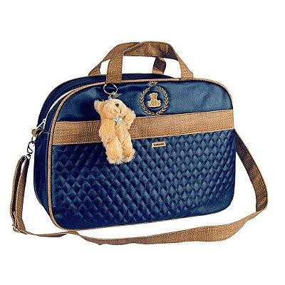 Bolsa Maternidade Puppi Azul Marinho G