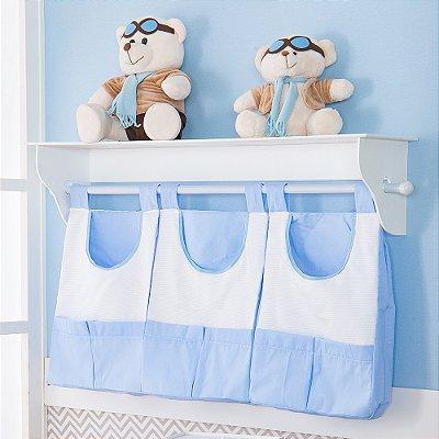 Porta Fraldas de Parede Imperial Príncipe Azul Bebê