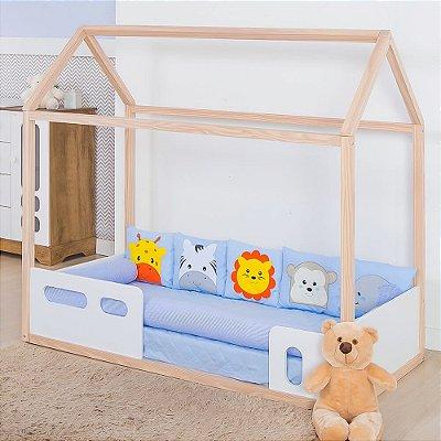 Kit Montessoriano Savana Azul Bebê