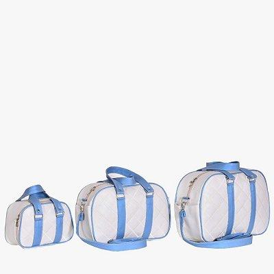 Conjunto de Bolsas Clean Azul