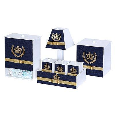 Kit Higiene Realeza Luxo Mdf