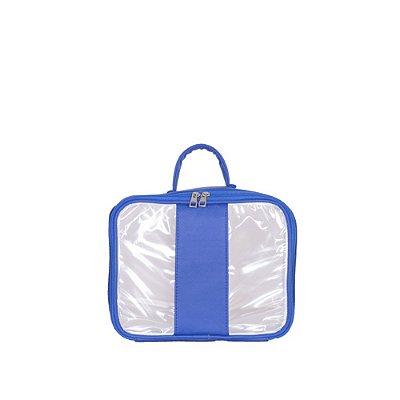 BolsinhaTransparenteParaty Azul M