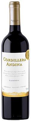 VINHO CORDILERA ANDINA CARMENERE 750ML