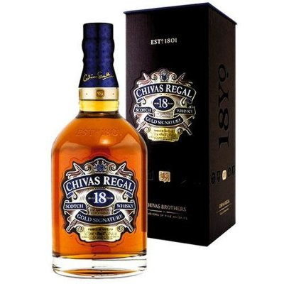 WHISKY CHIVAS 18 ANOS 750 ML