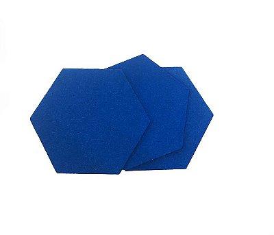 EVA Liso Azul 1,6mm - Placa retangular 40x30cm 5 unidades