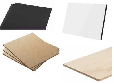 Kit de materiais - 7 peças