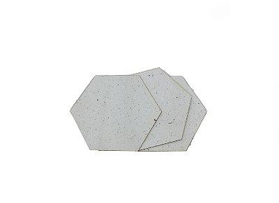 Papel Semente Natural 0,2mm - Placa retangular 30x40cm