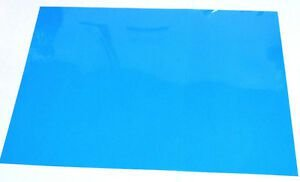 Acetato para stencil 21x20cm - kit 10 folhas