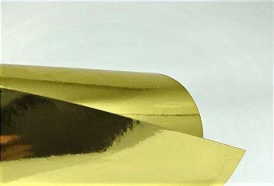 Papel Lamicote Dourado 255g A4 - 10 unidades