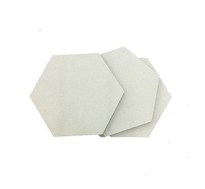 MDF Branco 3mm - Placa retangular 40x30cm Pinus Arauco