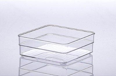 Organizador Paramount Diamond Cristal - 15X15X5,2CM - Cód. 937