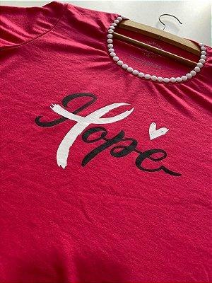 T-shirt Outubro Rosa
