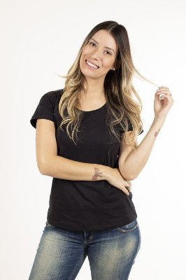 T-shirt Básica Feminina