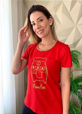T-shirt Mamãe Urso