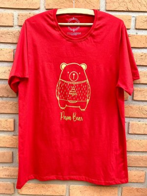 T-shirt Papai Urso