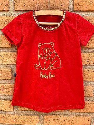 T-shirt Filha Urso