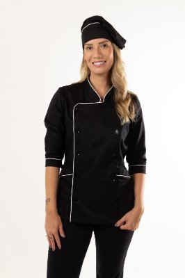 Dólmã Chef Feminina
