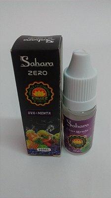 E-Liquid Sahara Uva + Menta Zero Nicotina - Ebuzz