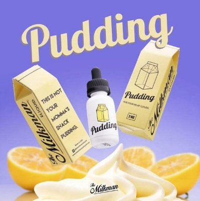E-Juice Pudding Max VG - 30ml The Milkman™