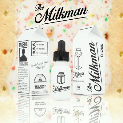 E-Juice Milk Vanilla 99% VG - 30ml The Milkman™