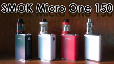 Micro One R150 Box Mod Smok e Minos Sub Tanque (25mm)