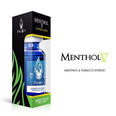 Menthol V E-liquid - Halo 30 Ml