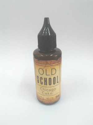 E-Liquid Old School Chicago Cake 50ML - 75 VG / 25 PG