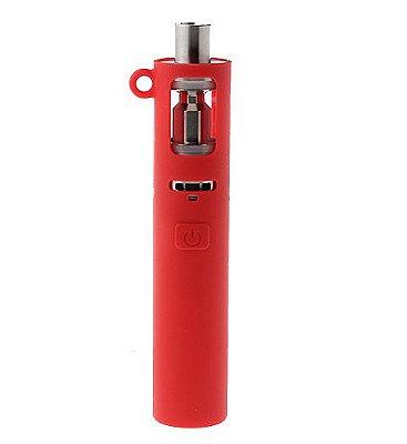 Capa de Silicone Protetora para Eleaf iJust S Bateria 3000mAh Vermelha