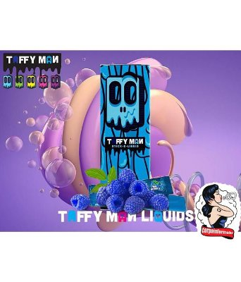 E-liquid TR4 BLU 30ml Taffy Man