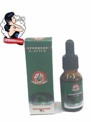 E-liquid Starbuzz® 15 ML -  Exotic Pirates Cave™