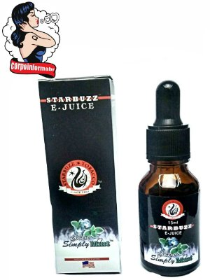 E-liquid Starbuzz® 15 ML - Exotic Simply Mint™