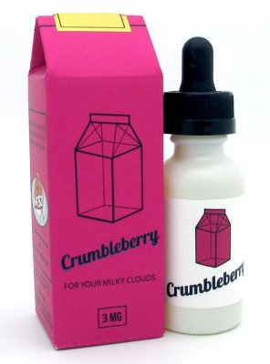 E-Juice Milky Crumbleberry Max VG - 30ml The Milkman™