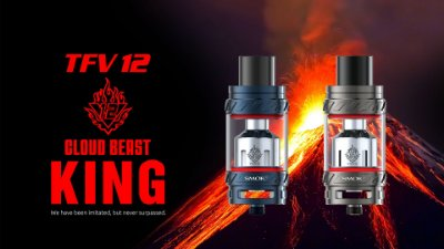 Atomizador TFV12 com RBA  - The Cloud Beast King 6.0 mL - Smok™
