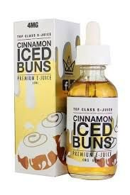 E-juice Cinnamon Iced Buns - Top Class 60ML