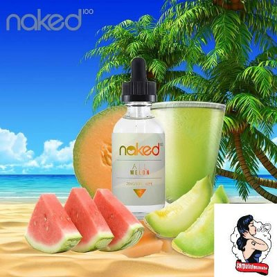E-liquid ALL Melon 70VG/30PG 60ML - NaKed100 E-liquid