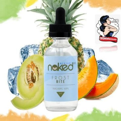 E-liquid ALL Frost Bite 70VG/30PG 60ML - NaKed100 E-liquid