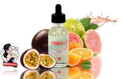 E-liquid Hawaiian Pog 70VG/30PG 60ML - NaKed100 E-liquid