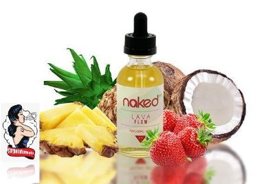 E-liquid Lava Flow 70VG/30PG 60ML - NaKed100 E-liquid