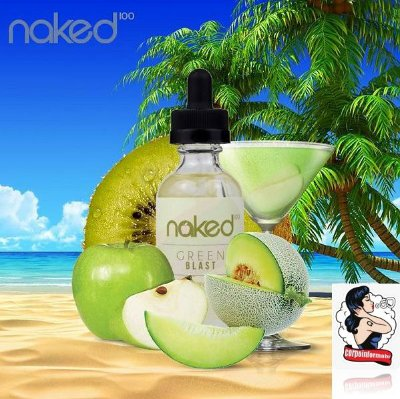 E-liquid Green Blast 70VG/30PG 60ML - NaKed100 E-liquid