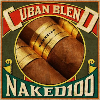 E-liquid Tobacco Cuban Blend 65VG/35PG 60ML - NaKed100 E-liquid