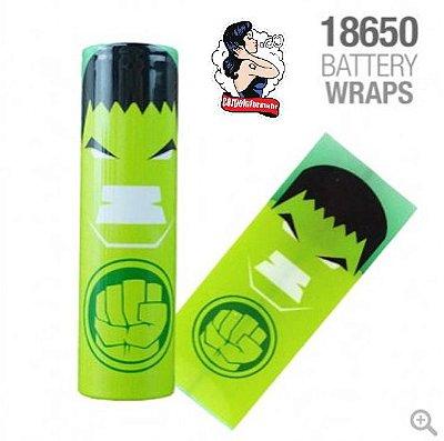 Vaper Wraper para baterias 18650 Hulk