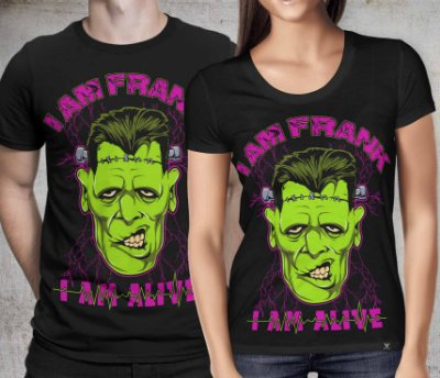 Camiseta Printfull I Am Frank