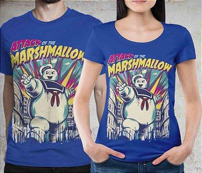 Camiseta Printfull Attack of the Marshmallow