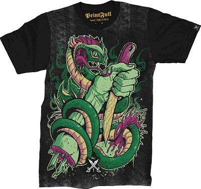 Camiseta Printfull Snake Cut