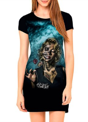 Vestido Printfull tipo camiseta t-shirt dress Love Memories