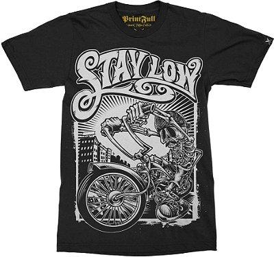 Camiseta Printfull Stay Low